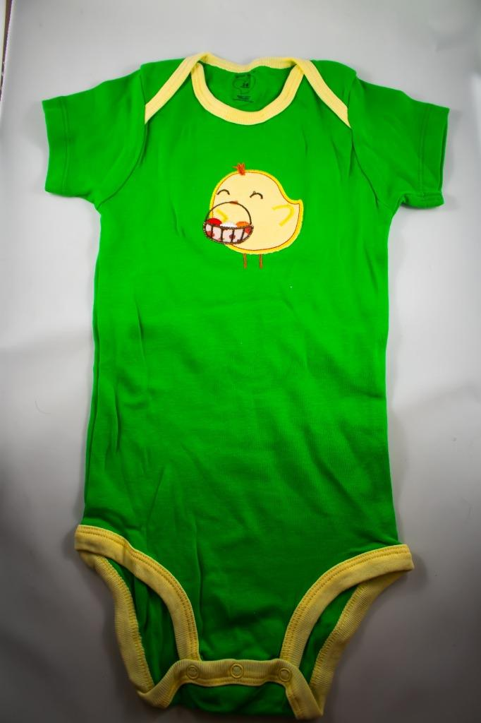 Baby Onesie - Duck With Basket - 24 Month ($5 Incl Tax)