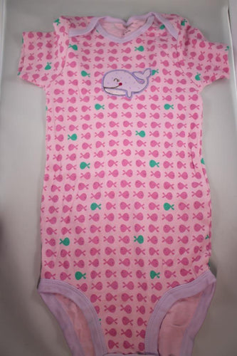 Baby Onesie - Whale - 48 Month ($5 Incl Tax)