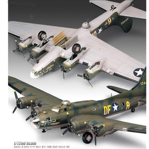 "Academy 1/72 B-17F ""Memphis Belle"" Flying Fortress ACA12495"