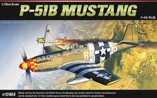 Load image into Gallery viewer, Academy 1/72 P-51B Mustang ACA12464