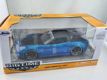 Load image into Gallery viewer, 1 Only - Jada 1/24 96804 BigTime Muscle 2006 Corvette Z06 New But Minor Defect in Paint