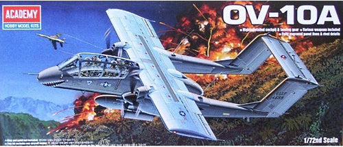 Academy 1/72 Rockwell OV-10A Light Attack/Observation ACA12463