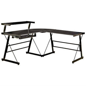 *NEW* SAVE $200 Broderick L-Shaped Corner Desk - Black