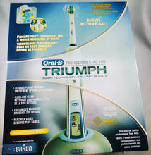 Load image into Gallery viewer, Oral-B Triumph Professional Care 9100 Power Rechargeable Electric Toothbrush w/Floss Action ($75 Incl Tax)