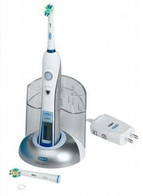 Oral-B Triumph Professional Care 9100 Power Rechargeable Electric Toothbrush w/Floss Action