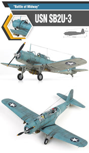 "Academy 1/48 SB2U-3 Vindicator ""Battle Of Midway""    ACA12324"