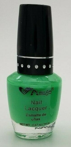 Amuse Nail Lacquer - Bright Green ($5 Incl Tax)