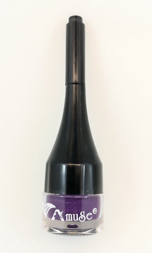 Amuse Gel Eye Liner with Brush in Handle - Purple