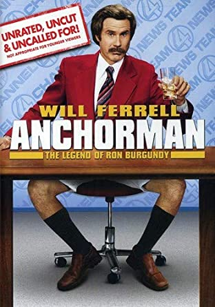 Anchorman The Legen Of Ron Burgundy - 2004 - USED