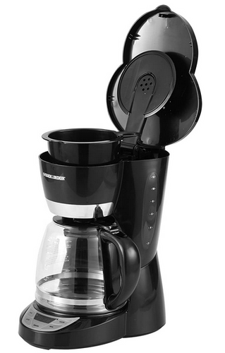 Black & Decker 12-Cup Programmable Coffeemaker, Black($35 Includes Tax)