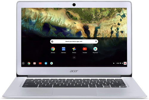 Acer Chromebook 14 High Resolution Screen (1080P) 100% Aluminum Alloy CB3-431-C5FM Sparkly Silver
