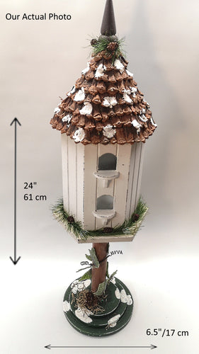 Decorative Christmas Birdhouse - A Fun Way to Celebrate!  ($20 incl Tax)