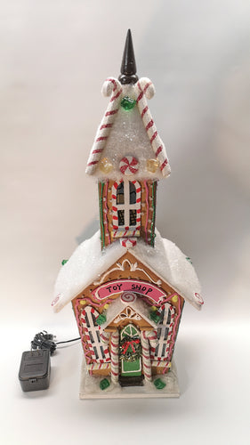 Christmas LED Toy Shop! Decorative Birdhouse - A Fun Way to Celebrate!  $50 incl Tax