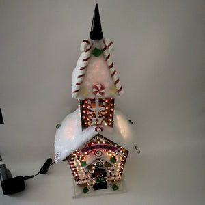Christmas LED Toy Shop! Decorative Birdhouse - A Fun Way to Celebrate!