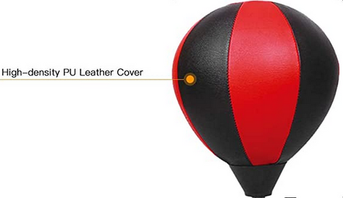 Desktop Punching Bag Red And Black