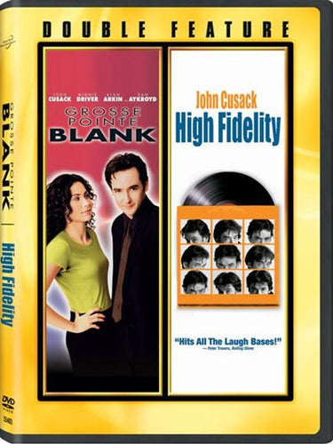 Double Feature 2-Disc - Grosse Pointe Bank & High Fidelity - USED
