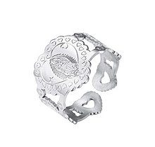 Load image into Gallery viewer, Faith Heart Men/Women's Ring