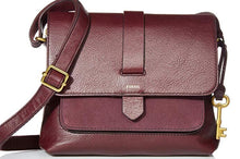 Load image into Gallery viewer, BRAND NEW FOSSIL KINLEY Cross Body Leather Bag ($125 Incl Tax)
