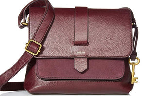 BRAND NEW FOSSIL KINLEY Cross Body Leather Bag ($125 Incl Tax)