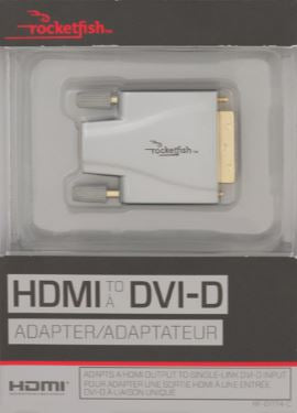 Rocketfish HDMI to DVI-D Adapter (RF-G1174-C)