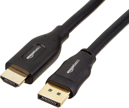 AmazonBasics DisplayPort to HDMI Cable 15' (HL-007265)