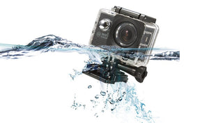 Wifi Water Resistant Action Camera  INCLUDES 32GB SANDISK Micro SD Card