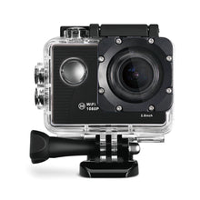 Load image into Gallery viewer, Wifi Water Resistant Action Camera  INCLUDES 32GB SANDISK Micro SD Card