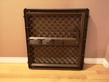 Load image into Gallery viewer, USED North State SuperGate Ergo Baby Gate - Brown -  Pressure Mount NO HARDWARE needed ($20 Incl Tax)