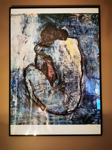 Blue Nude Print - Pablo Picasso 27.5
