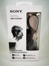 Load image into Gallery viewer, Sony MDR-AS410AP Sports In-ear Headphones - Workout, Receive Calls, Music!
