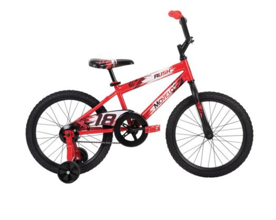 Movelo Rush 18-Inch Boys Bike For Kids (Red) - NEW ($85 Incl Tax)