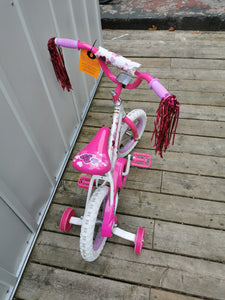 "($55 Incl Tax) Movelo Razzle  Girls' Steel Bike 12"" Wheels Ages 4-6"