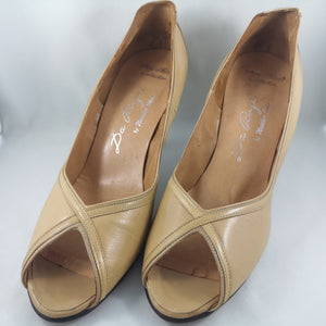 Vintage Antique Lady's Shoes Denny Stewart/Da Pinza by Heather Shoes - 100% Leather! BRAND NEW IN BOX (Includes Original Box!)