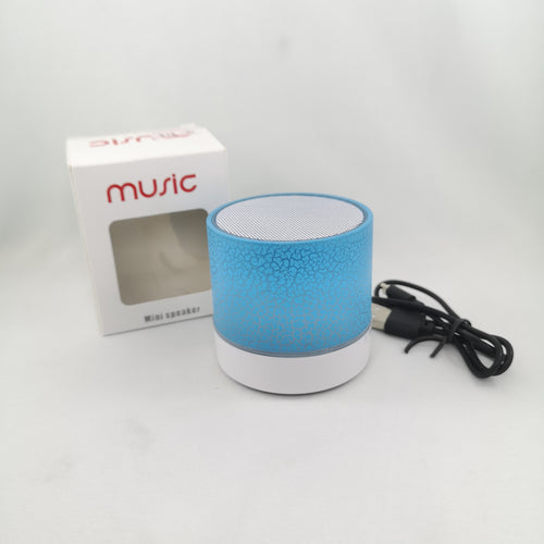 Fancy Flickering Light Bluetooth Mini Speaker - or Is it Just a Nightlight, For Use at the Park, Beach etc?!  (Only $5 including tax!)