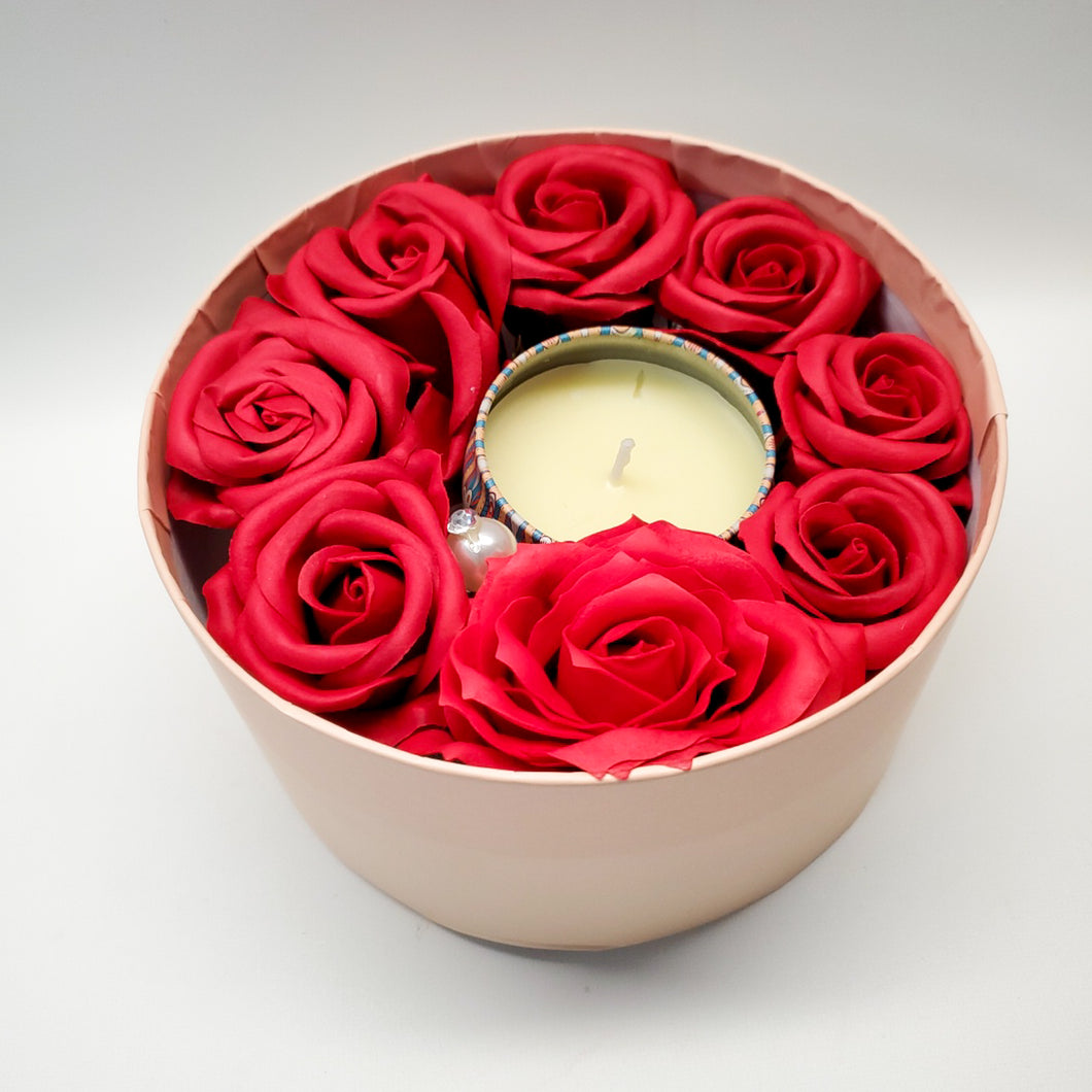 Rose Candle Set