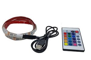 2M LED Light Strip With Remote Control -Waterproof  IP65 - USB SMD5050 - Indoor/Outdoor Decoration/Lighting ($20 Incl Tax)
