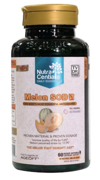 Melon Sod The Bodys Most Powerfull Antioxidant Nutra Centials