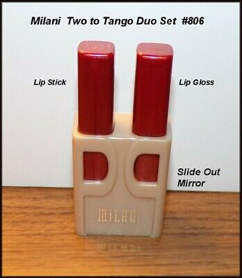 Milani Lipstick & Lipgloss Duo with Slide Mirror ($6 Incl Tax)