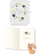 Load image into Gallery viewer, Mothers Day Card  With  Decorative Flowers