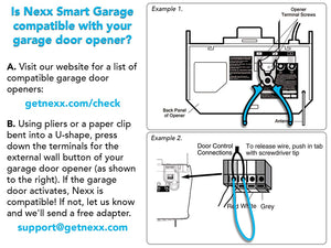NEXX Garage NXG-100B SMART WIFI Remote Garage Door Opener $50 inc Tax