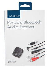 Load image into Gallery viewer, Insignia Bluetooth Audio Receiver Kit (NS-MBTK35-C)