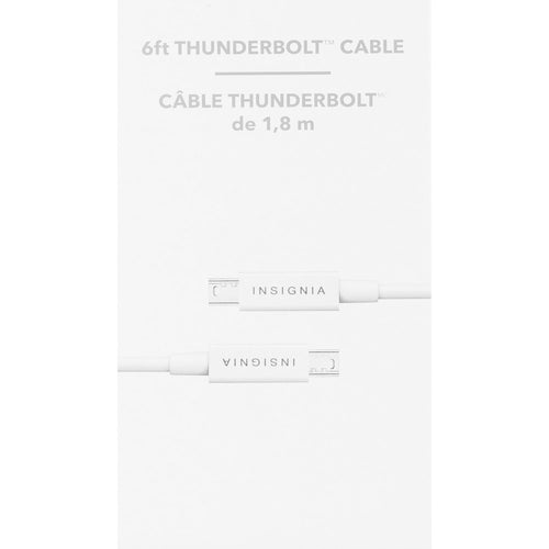 Insignia 6' Thunderbolt Cable (NS-PT606AA-C)
