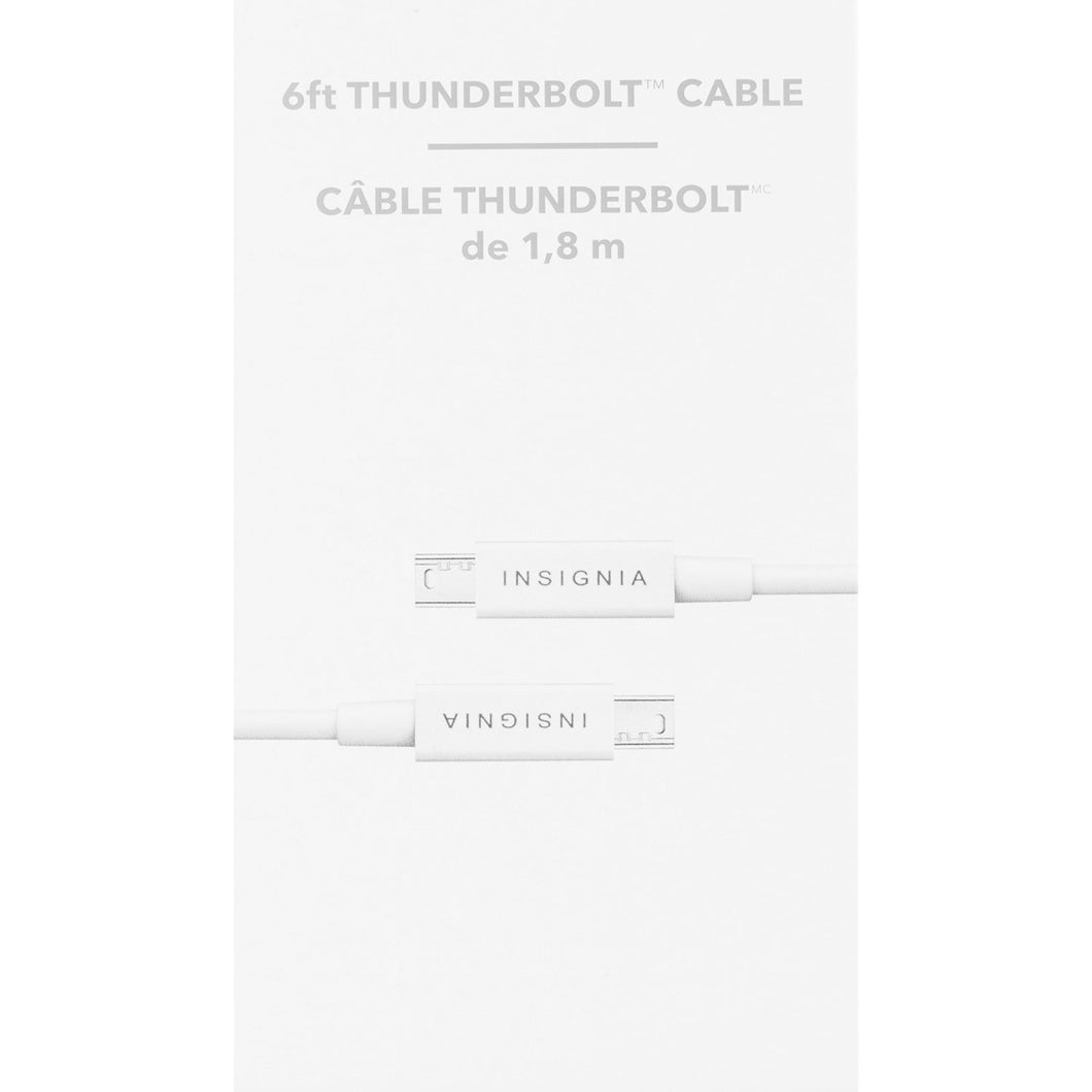 Insignia 6' Thunderbolt Cable (NS-PT606AA-C) ($5 Incl Tax)