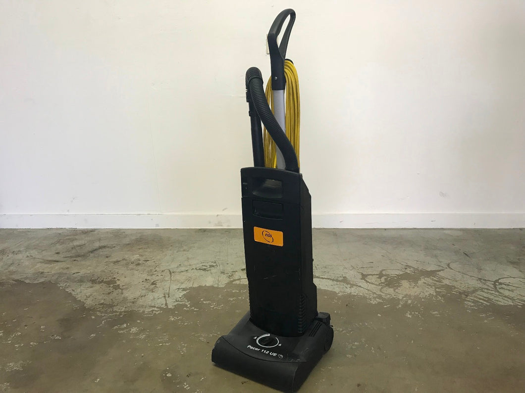 Commercial NSS Pacer 112 UE Upright Vacuum HEPA FILTER STD (12.5 Inch) (Used) ($200 Incl Tax)