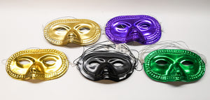 ($5) ZOOM Party Masks, Hats, Necklace, Horns - 73 pieces total