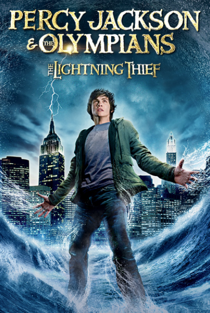 Percy Jackson & The Olympians - The Lightning Thief 2010 - USED