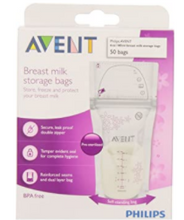 Load image into Gallery viewer, Philips Avent Breast Milk Bags