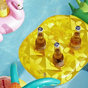Sunnylife Australia Pool Inflatable Drink Holder - Pineapple
