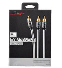Load image into Gallery viewer, Rocketfish 8' Component Video Cable (RF-G1208-C)