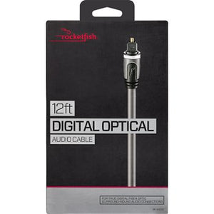 Rocketfish 12' Digital Optical Audio Cable (RF-G1220-C)